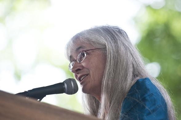 Norte-americana especialista em justiça restaurativa palestra em Caxias